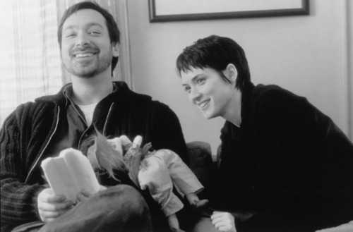 fuckyeahdirectors:  James Mangold and Winona Ryder on-set of Girl Interrupted (1999)