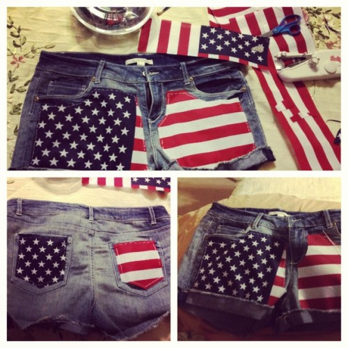 That's right bitches, I made these😉 #tomorrow #july4th for #dayglow  (Taken with Instagram)