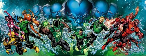 "Green Lantern ""Third Army"" crossover cover"