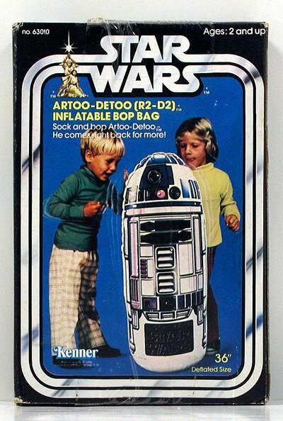 browsethestacks:  Vintage Toys - R2-D2 Bop Bag