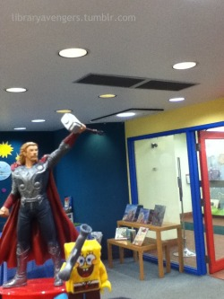 Thor makes a unlikely ally!
