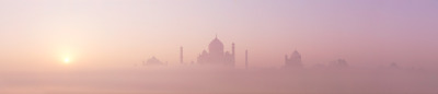 germanpyro:  The Taj Mahal at sunrise - Agra, India by Simon Christen