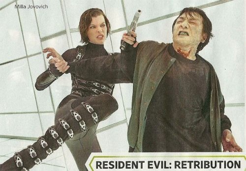 New still from Resident Evil: Retribution! #5