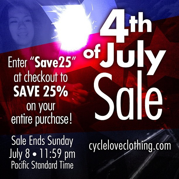 Happy 4th of July! #independenceday #sale #bicycle #fixedgear #cycling #igerscycling #roadie #roadbike #bikelove #losangeles #bayarea #international #fixie #mtb #bmx #thankyou #red #white #blue #jj #instagood #graphictee #tanktop  (Taken with Instagram)