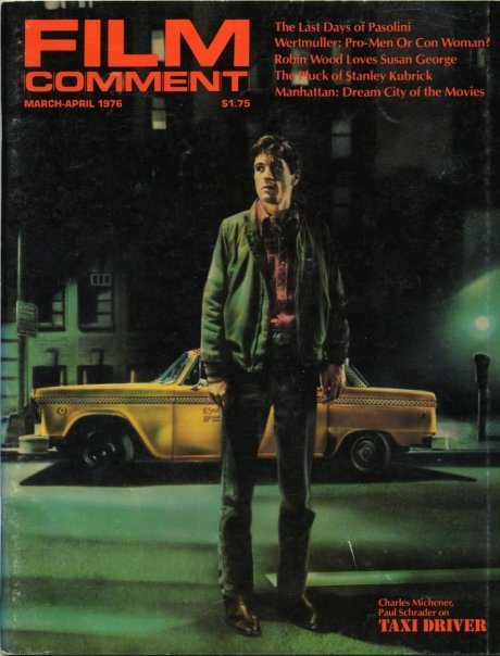 'Taxi Driver' on the cover of Film Comment, March-April 1976.