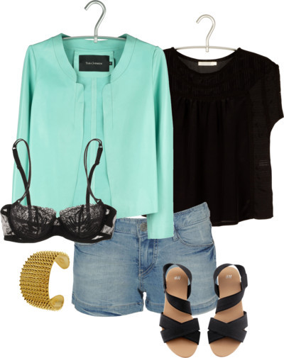 Black & Mint por celmy