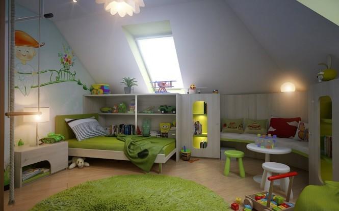 homedesigning:  (via Attic Spaces)