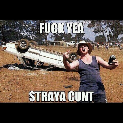 #Represent. Shouts to @3ree6ixty for the photo. #australia #aussie #straya #cunt #cunts #fuckyeah #blokes #beer #stubbie #holder #car #upsidedown #blackboard #hurryup #mrsquiggle #funny #lolz #lol (Taken with Instagram)