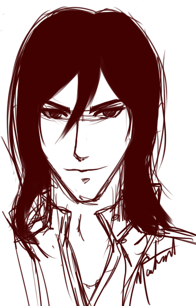 Naitmaere from Gaia Online drew GEB!Alistair for me. He looks so hot and smug and an asshole. Just like I pictured him to be.