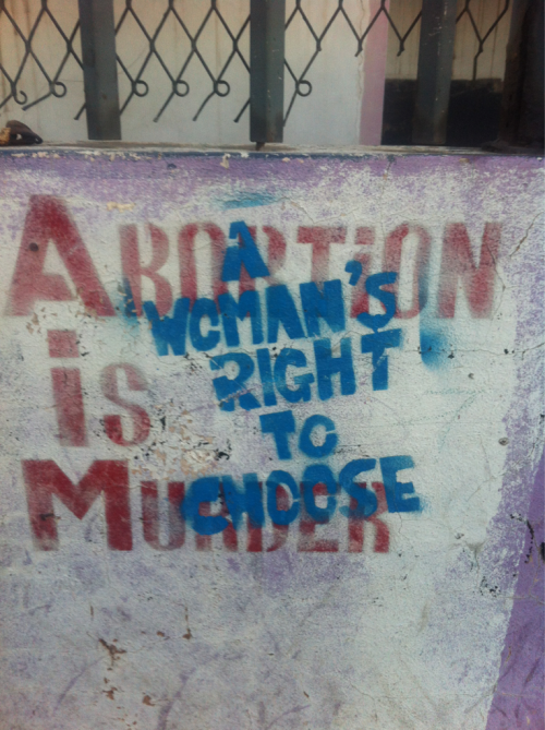 abortion is murder - A woman's right to choose