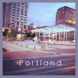 #directorpark #lights #square #summer #dusk #work #portland #ignation #bestigram #instagood #clouds #humid #brick #city #urbanart #downtown #shopping #fountain #pdx #architecture #art #stateoftheart #modern #design (Taken with Instagram at Director Park)