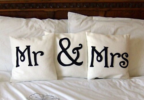 Cute wedding idea