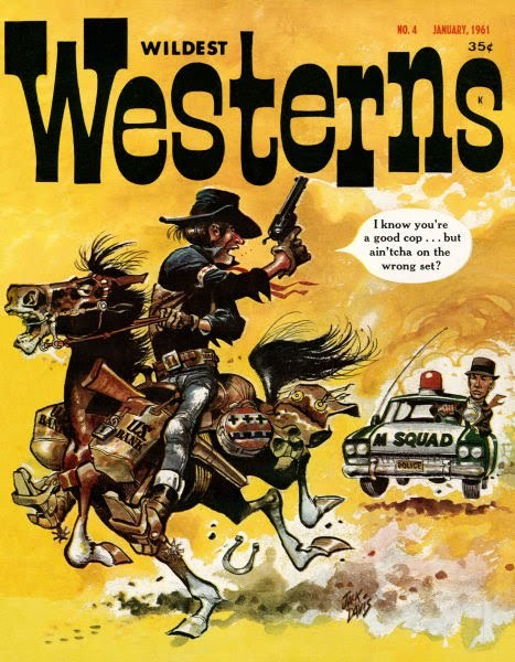 Wildest Westerns #4 (Jan. 1961) Jack Davis cover..