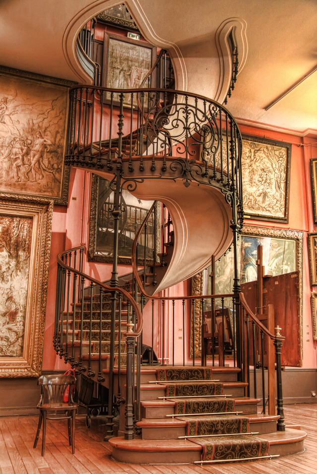 candicepaige:  Staircase at Musee Gustav Moreau, Paris!