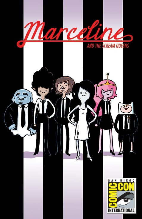 browsethestacks:  Comic - Marceline And The Scream Queens #01 (SDCC Exclusive Cover by Meredith Gran And Steve Wands)