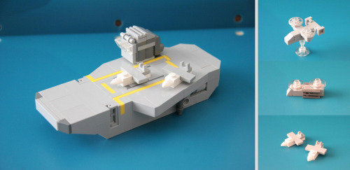 Microscale Carrier + Aircraft (by CommanderHawk)