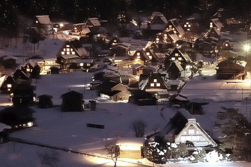 Shirakawa-go Village  world heritage by digicacy on Flickr.