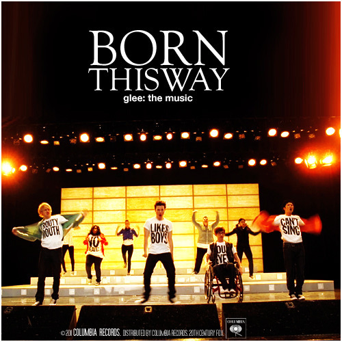 Glee: The Music, Born This Way Requested Alternative Album Cover