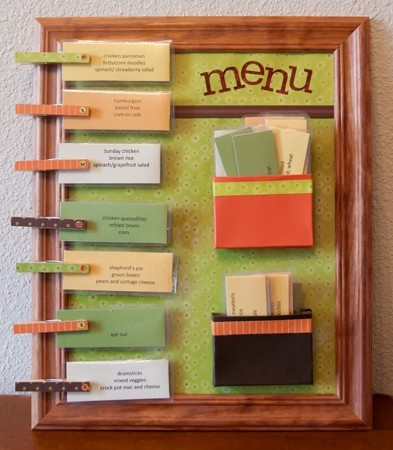 a fun way to plan meals 「み」