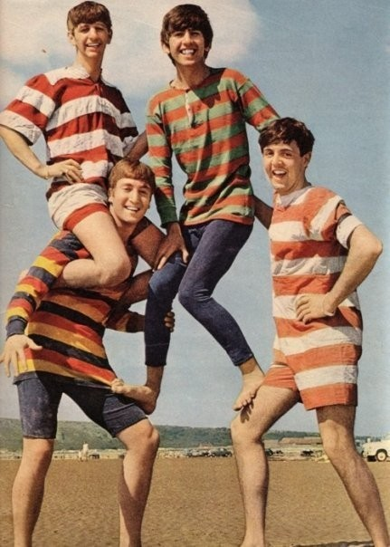 Beatles on vacation