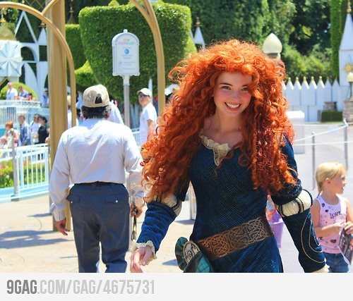 (via 9GAG - Real-life Merida)