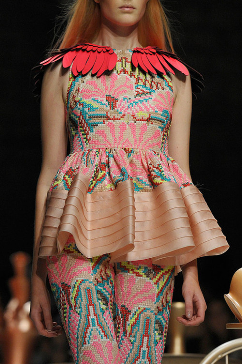 ~She Has Wings~ Manish Arora Spring Summer Fashion.