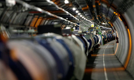 Higgs Boson-Like Particle Discovery at LHC I was asking for big news yesterday and it doesn't get more massive than this. Both CMS and Atlas have seen a 'bump' in their data that has been collected at the LHC on the Franco-Swiss border corresponding to a particle weighing in at about 125-126 GeV which is around 130 times heavier than the proton. They have attained a confidence level at around the 4.9/5 sigma meaning that there is roughly a 1 in 2 million chance that there is no new particle. They have NOT necessarily discovered the Higgs boson because they haven't confirmed that this new particle is the Higgs; they've only looking at the mass of the particle. It could be something else with a mass of 125 GeV. To actually claim it is the Higgs, they need to confirm that it has spin 0, the right coupling ratios, and other predicted properties. Nevertheless, if it is a deviation from what the Standard Model it means that this is new physics at work and that could serve as a window into completely new realms of study.