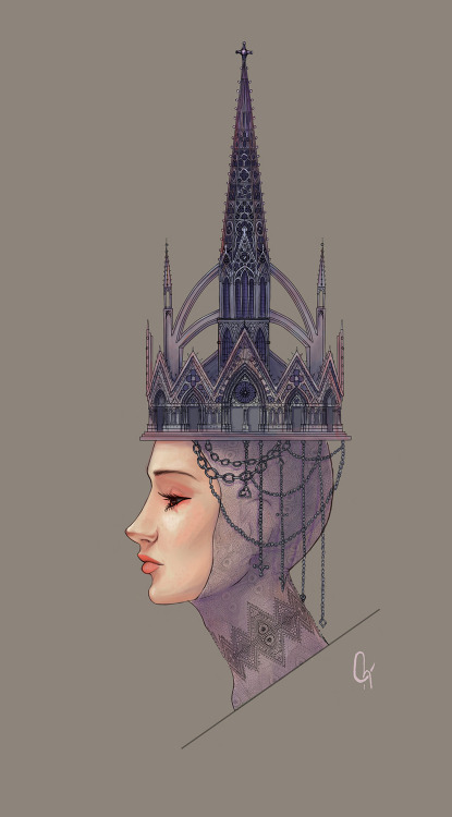 Gothic crown by ~Chalciuhtlicue