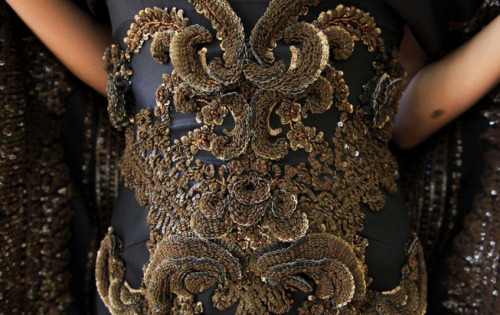 Givenchy Haute Couture Fall 2012 details