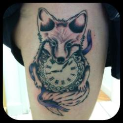 had another two hours on my thigh yesterday, another two hours to go now.