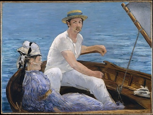 boating, edouard manet, 1874. metmuseum.org  happy july fourth!