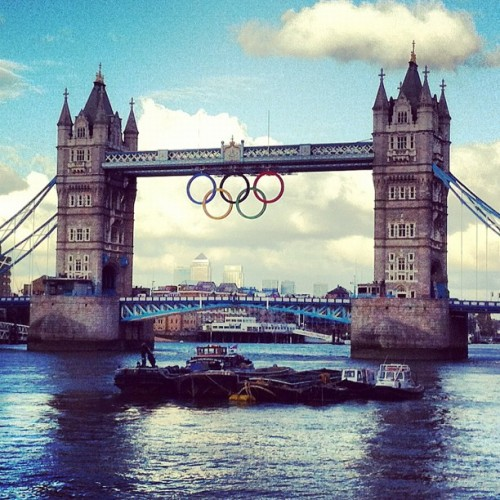 Ready for the #olympicgames? 23 days to go! #london #timeoutlondon (Taken with Instagram)