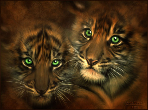 kingray:  Two Brothers by *inny58