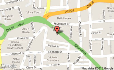 I'm at The Hoxton!  http://4sq.com/ceJMS9