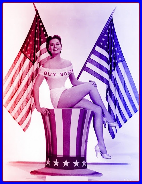 retrogasm:  Red, White and Blue