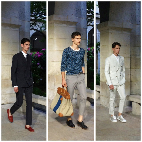 Hermes 2012 Paris Menswear Fashion Week