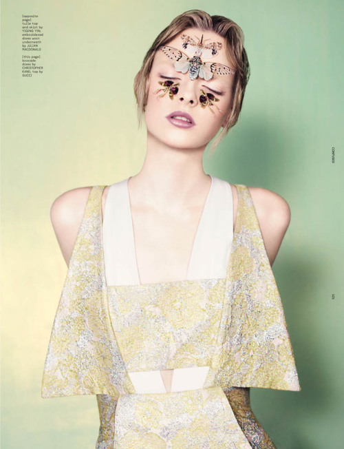 Elza Luijendijk for Ben Toms' Dazed & Confused
