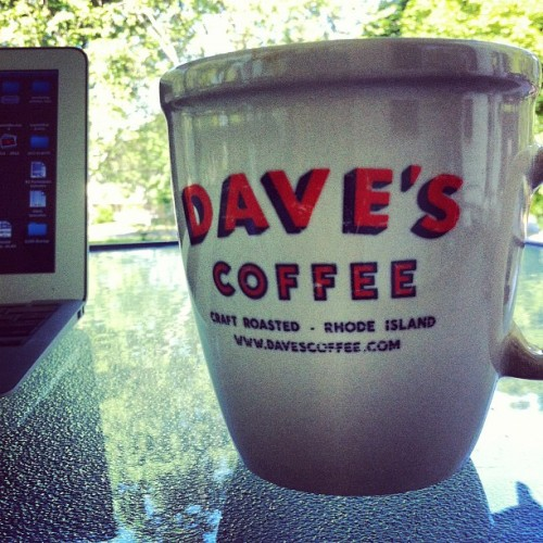 my new coffee mug (Taken with Instagram at SiteValet HQ)