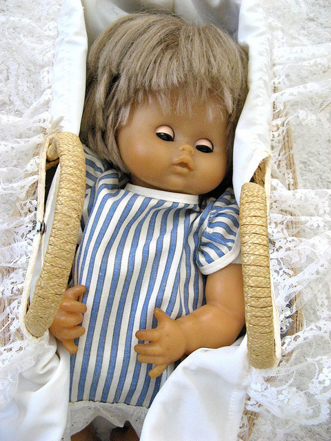 Katja - A doll from my childhood by Liiolii on Flickr.