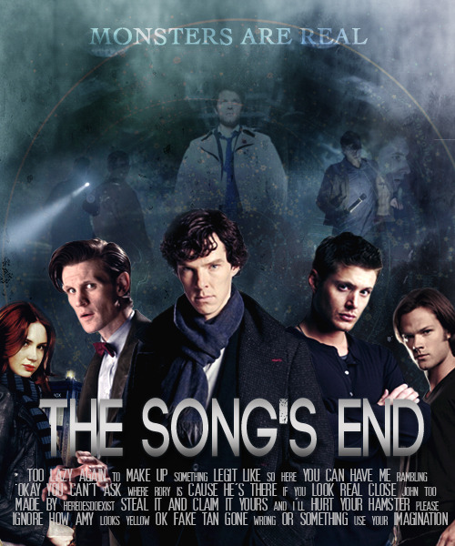 heroesdoexist:   Fake movie poster→ superwholock  When multiple universes go wibbly, the Doctor finds himself in a situation where he's surrounded by a group of unlikely heroes. Working together, with a few dilemmas on the way, they try to bring a stop to the end of all existence. Inspired by [x]