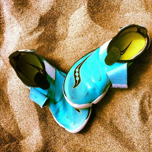 Saucony Shoes in Sand - #shoes #sand #summer #fitness #instamood #instagramhub #instagram #instagood #igaddicts #ignation #igdaily #igers #kicks #swag #iphoneonly #iphoneography #iphonesia  (Taken with Instagram)