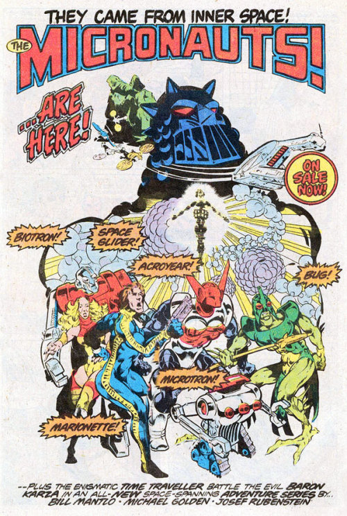 fuckyeahsciencefiction:  Micronauts