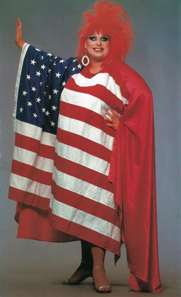 divineofficial:  HAPPY 4TH OF JULY! Divine, photo by Greg Gorman, 1986