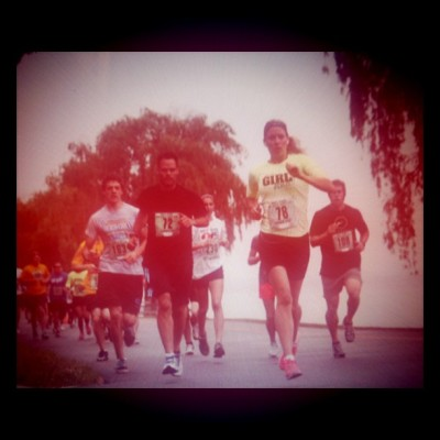 @NikeRunning - an action shot of another #10K #race I completed!  #never. #stop. #running #makeitcount  (Taken with Instagram)