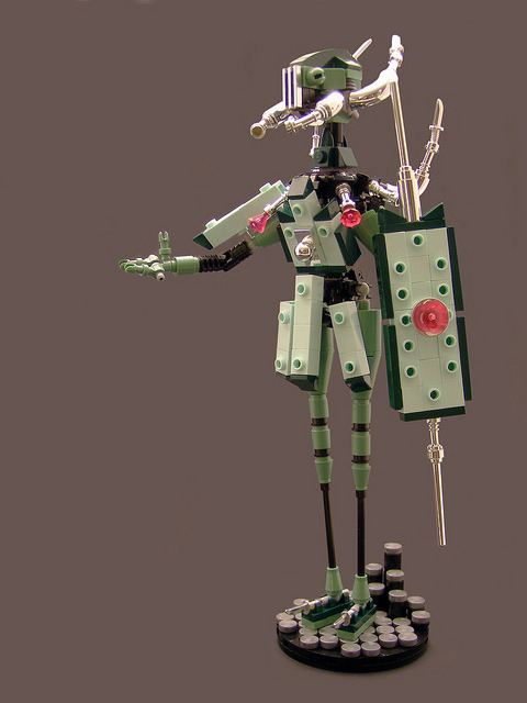 Alien Priestess by Legohaulic on Flickr.