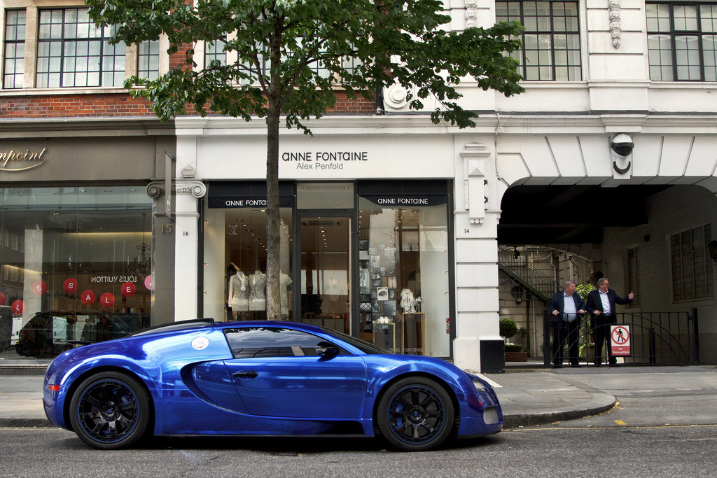 Blue chrome