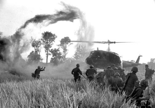 taco-man-andre:  US troops on a search and destroy mission, circa 1966
