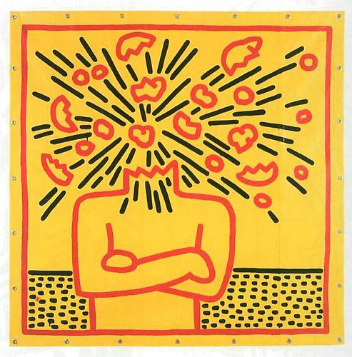 Keith Haring, Untitled, 1983