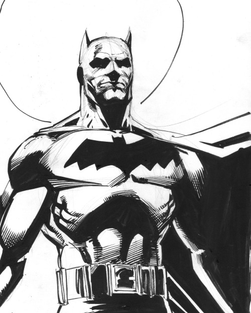 Original Batman Comic Art by Joe Rubinstein - www.comicbookquest.com Batman Comic Art