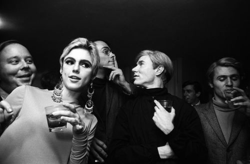 Steve Schapiro, Andy Warhol, Edie Sedgwick and others photo by David McCcabe, New York, 1965(from the collection of Hugo and Carla Brown)